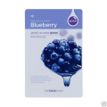 THE FACE SHOP Real nature mask Blueberry