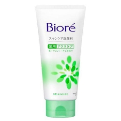 KAO Biore Facial Cleansing Foam Medicated Acne