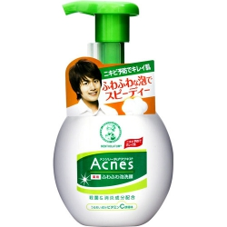 Mentholatum Acnes Medicated Bubble Wash Cleanser